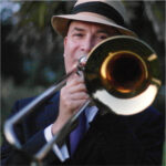 Tim Wade on trombone
